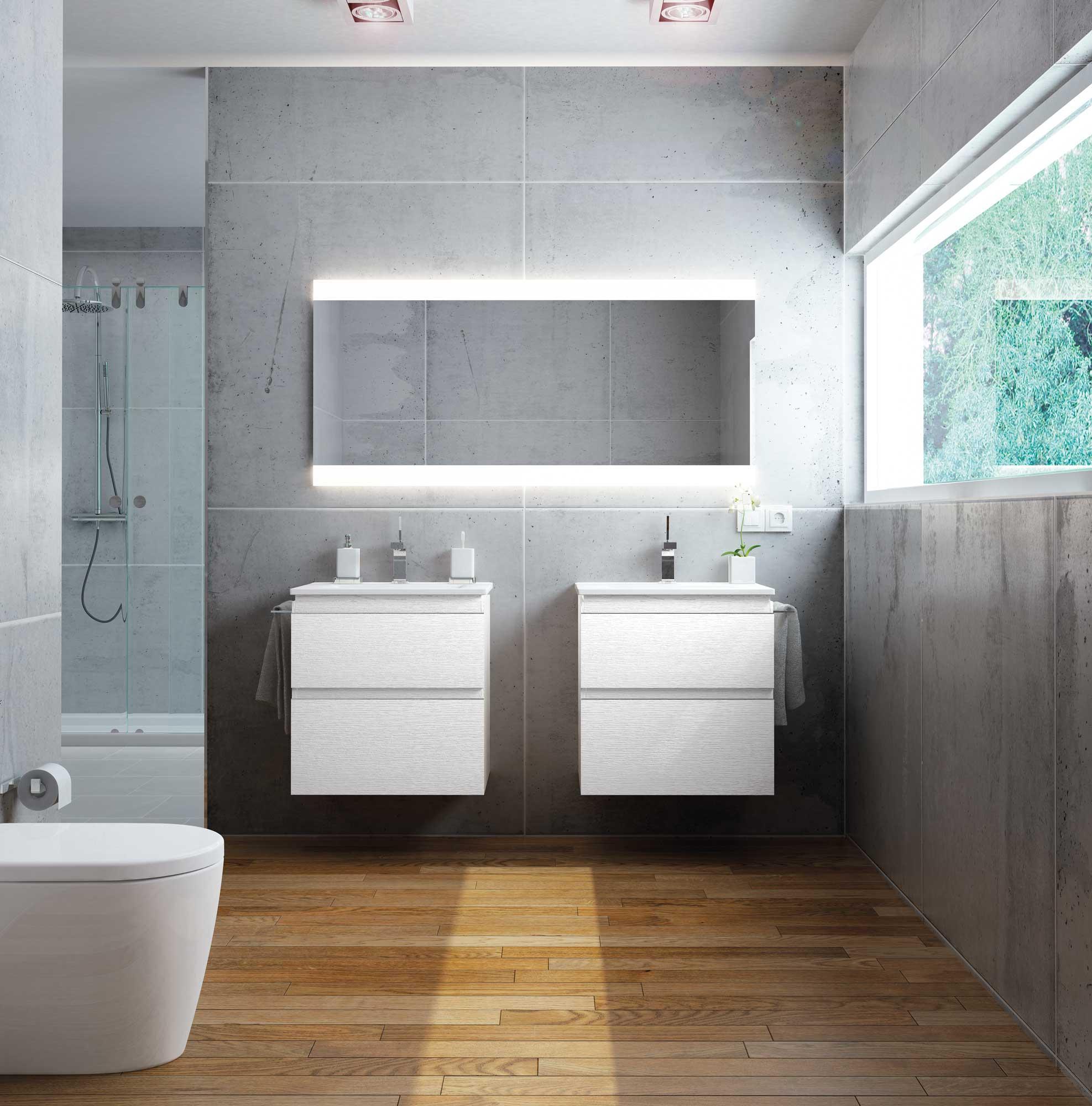Baños modernos - Avila Dos
